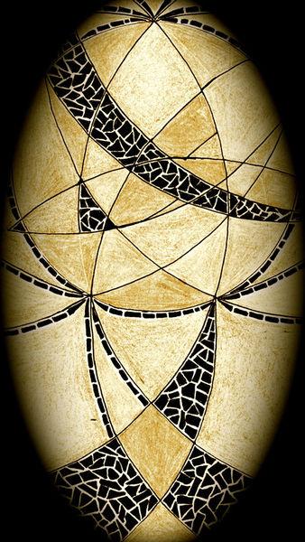 Kontrast-oval-sepia