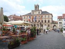 Rathausplatz in Weimar by Martin Müller