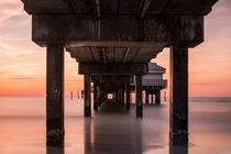 Sunset at Pier 60 by Frank Stettler
