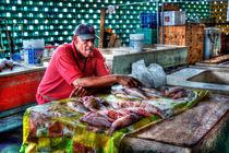 Market salesman  by Srdjan Petrovic