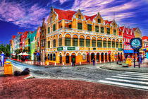 Willemstad Curacao by Srdjan Petrovic