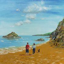 Spaziergang an der Englischen Südküste von Barbara Kaiser