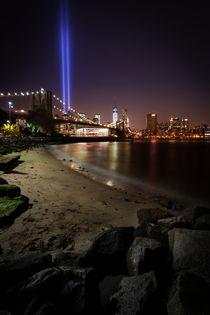 Brooklyn Bridge 9/11 by Lukas Kirchgasser