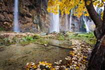 Plitvicer Seen im Herbst von Lukas Kirchgasser