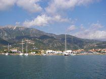 Greek Anchorage von Malcolm Snook