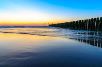 The sea at Domburg beach, Holland  von 7horses