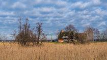 Haus auf dem Deich von Ralf Warnecke
