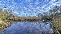 Wolkenspiegelung von Ralf Warnecke