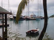 Yacht Harbor Antigua von Malcolm Snook