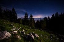 Nacht auf dem Dobratsch von Lukas Kirchgasser