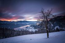 Sonnenuntergang Millstätter See by Lukas Kirchgasser