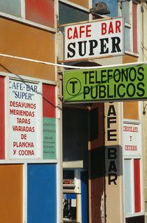 cafe bar Almeria Andalusia Spain von lsdpix