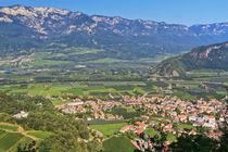 Adige Valley - Ora village von Antonio Scarpi