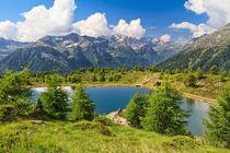 Doss dei Gembri lake in Pejo Valley by Antonio Scarpi