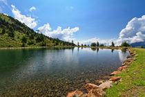 Doss dei Gembri lake in Pejo Valley von Antonio Scarpi