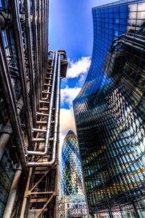 Lloyd's And Willis Group London by David Pyatt