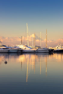 Sunrise at the Marina by Lana Malamatidi