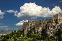 Acropolis of Athens by Lana Malamatidi