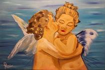 L'Amour et Psyché, enfants by Rudolf Urabl