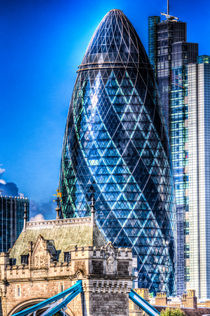The Gherkin London von David Pyatt