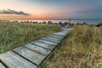 Strandweg Graswarder by Jan Adenbeck