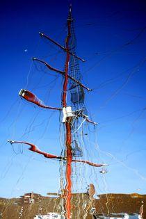 Der Mast by Hella Schümann