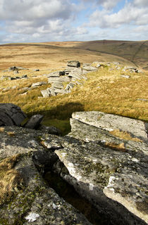 View near Beardown Tor by Pete Hemington