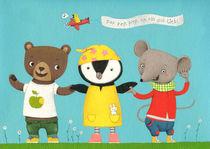 Drei Freunde by Constanze  von Kitzing