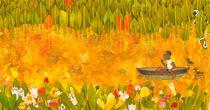 Junge im Boot by Constanze  von Kitzing