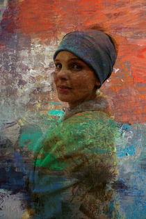 The girl with a pearl earring by Harry Hadders