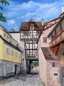 Hechttor in Rottenburg by Elisabeth Maier