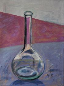 Stillleben mit Flasche von Monika Missy