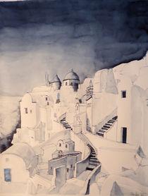 Santorini-Oia by Gerhard Stolpa