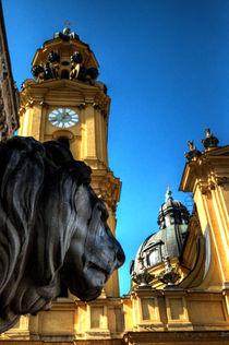 Munchen Lion  von Rob Hawkins