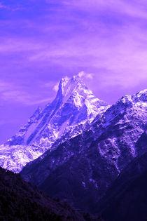 Sacred Mountain, Himalayas, Nepal von Aidan Moran