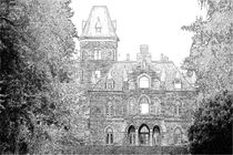 Marienburg 0001 Bleistiftzeichnung von leddermann