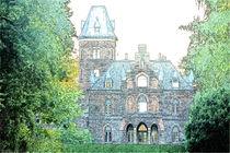Marienburg 0001 Buntstiftzeichnung von leddermann