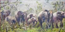 Wanderung der Elefanten by Renée König