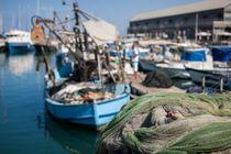Boot im Hafen von Giuliano Kullik