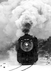 Ice Harvest Train by Daniel Troy