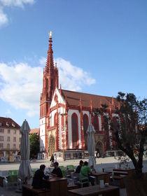 Kirche in Würzburg by Martin Müller