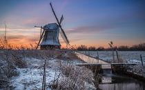 Windmühle in Neustadtgödens von bildwerfer