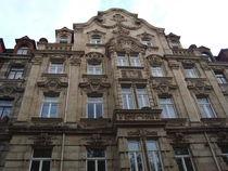Jugendstilfassade in Fürth von Martin Müller
