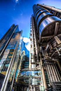Lloyd's And Willis Group London von David Pyatt