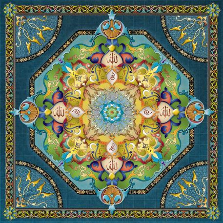 Mandala-arabesque