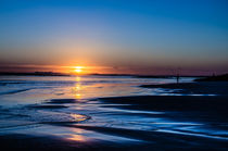 Beach Sunset by dimondimages