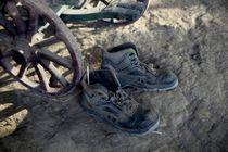 Die blauen Schuhe von Hella Schümann