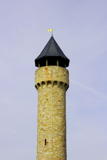 Wartburg Castle tower by hadot