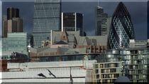 London, Details Skyline(Caro-van-Ruit) von Caro Rhombus van Ruit