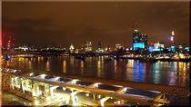 London, Flussblick(Caro-van-Ruit) von Caro Rhombus van Ruit
